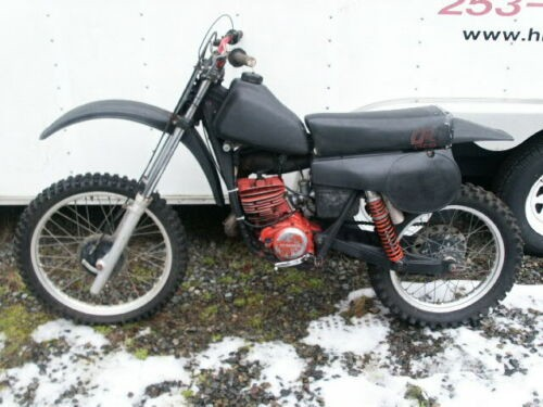 1980 Honda CR Black for sale craigslist