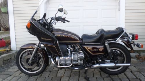 1980 Honda Gold Wing BURGANDY for sale craigslist