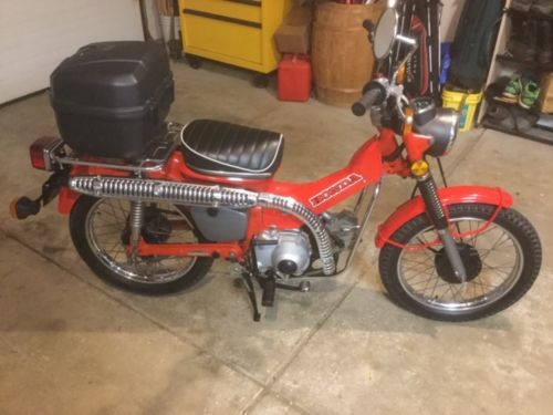 1980 Honda Trail 110 Red craigslist