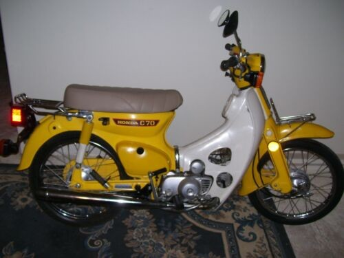 1980 Honda honda c70 passport ct Yellow for sale