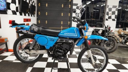 1980 Suzuki TS185T Blue for sale