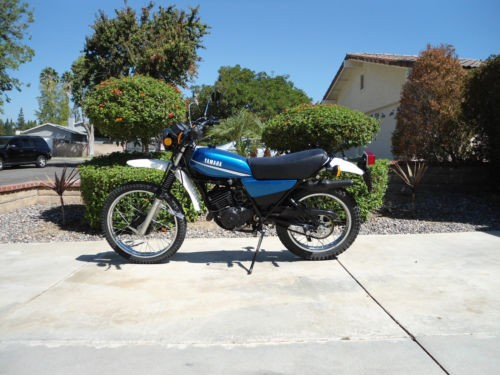 1980 Yamaha DT 175G Blue for sale