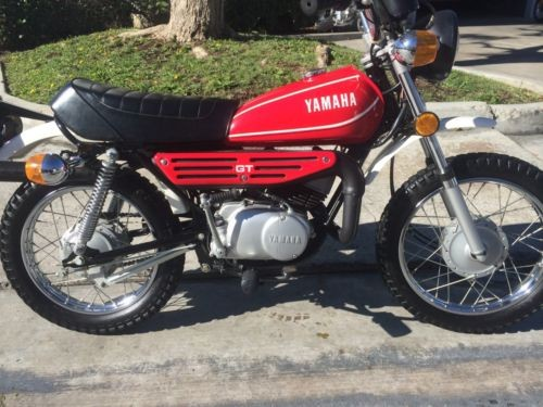 1980 Yamaha GT80 Red for sale craigslist