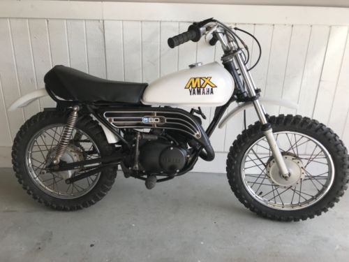 1980 Yamaha MX80 White for sale craigslist