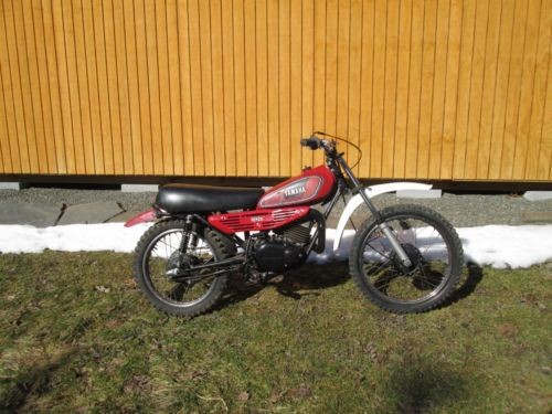 1980 Yamaha mx100 Red for sale