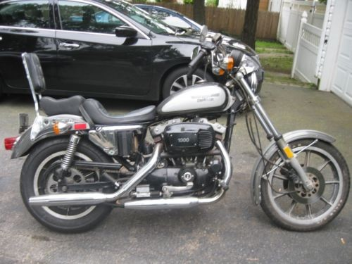1981 Harley-Davidson Sportster GRAY/SILVER for sale