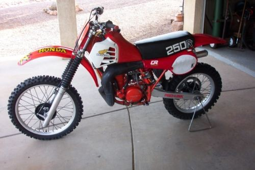 1981 Honda CR Tahitian red for sale