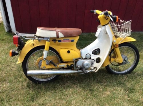 1981 Honda CT 70 Passport Deluxe Yellow for sale craigslist