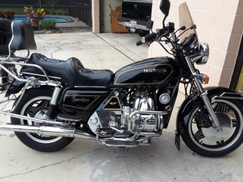 1981 Honda Gold Wing Black for sale craigslist