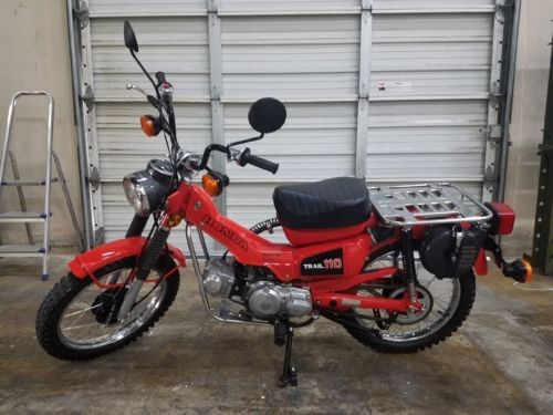 1981 Honda Trail 110 Red for sale craigslist
