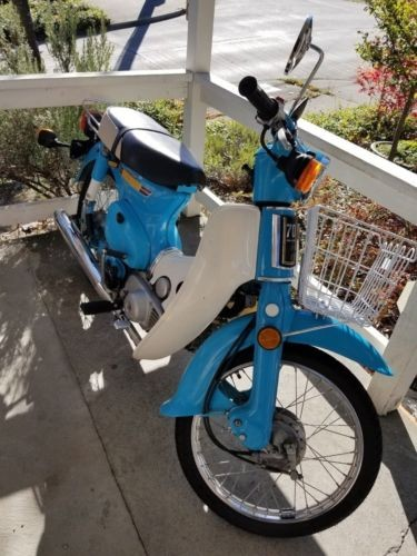 1981 Honda c70 Passport Blue for sale