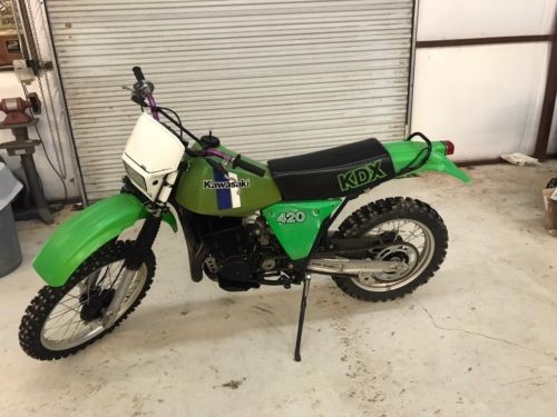 1981 Kawasaki KDX Green for sale craigslist