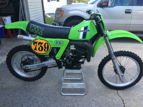 1981 Kawasaki KX for sale craigslist