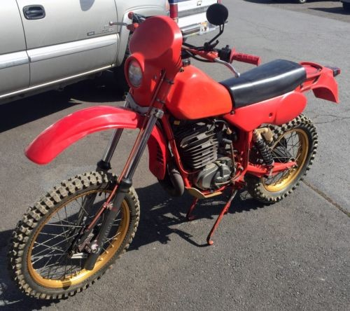 1981 Other Makes Maico 490 GS Red for sale