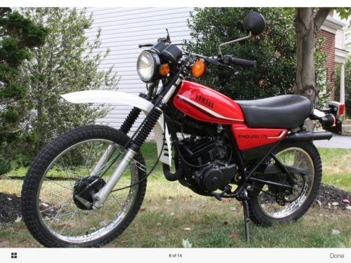 1981 Yamaha DT175 Red for sale craigslist