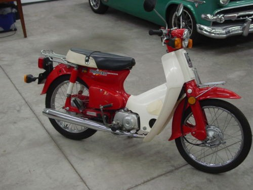 1982 Honda C 70 Passport    C70 Passport Red for sale craigslist