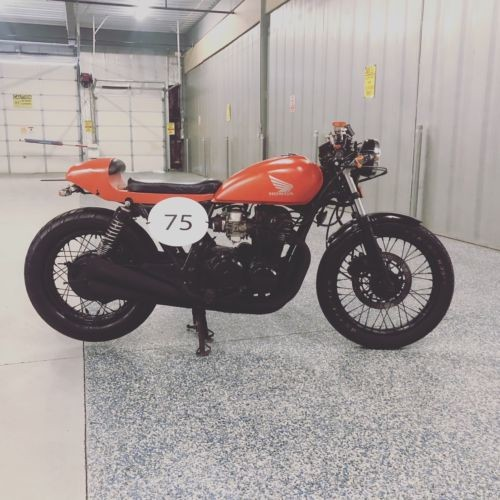 1982 Honda CB Matte Red for sale