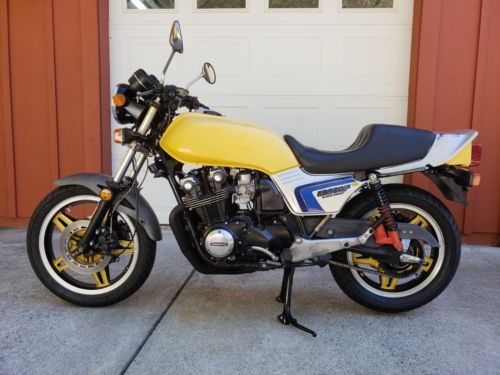 1982 Honda CB Yellow for sale craigslist