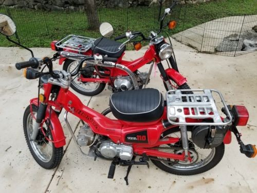 1982 Honda CT red for sale
