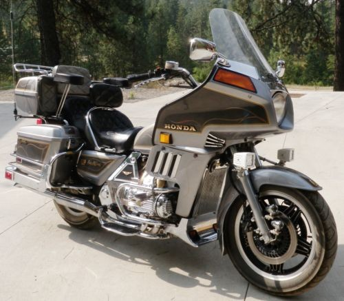 1982 Honda Gold Wing Silver for sale craigslist