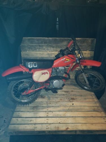 1982 Honda XR Red for sale craigslist