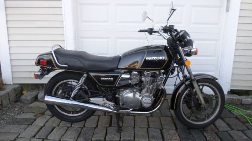 1982 Suzuki GS BLACK for sale