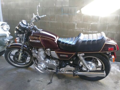 1982 Suzuki GS Burgundy for sale