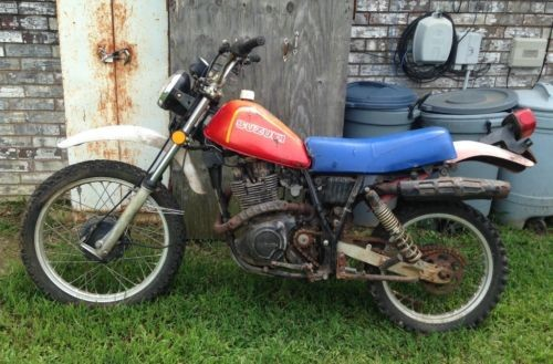 1982 Suzuki SP500 Red for sale