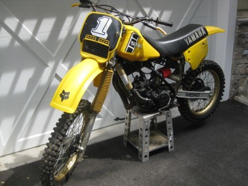 1982 Yamaha YZ Yellow for sale