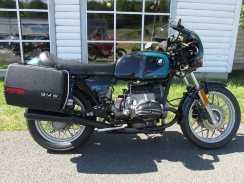 1983 BMW R-Series black/green for sale