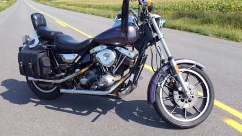 1983 Harley-Davidson FXR Purple for sale craigslist