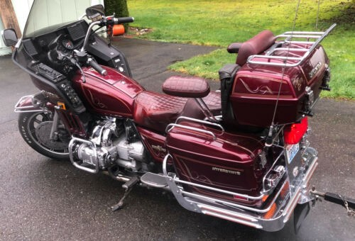 1983 Honda Gold Wing Burgundy for sale craigslist