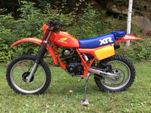 1983 Honda XR  photo