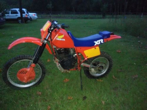 1983 Honda XR Red for sale craigslist