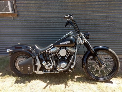 1984 Harley-Davidson Softail Black for sale
