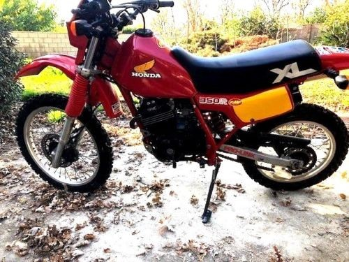 1984 Honda XL350R Red for sale craigslist