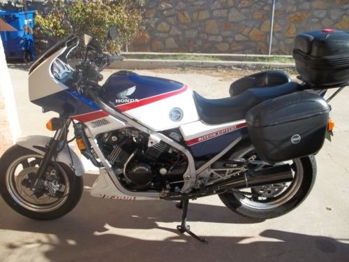 1985 Honda Interceptor Red / White / Blue for sale craigslist