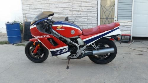 1985 Honda Interceptor red white and blue for sale
