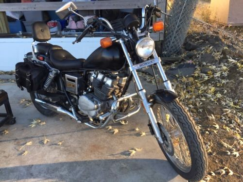 1985 Honda Rebel Black for sale craigslist