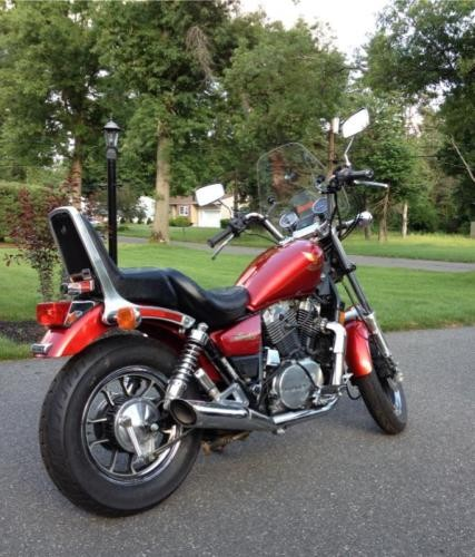1985 Honda Shadow Red craigslist