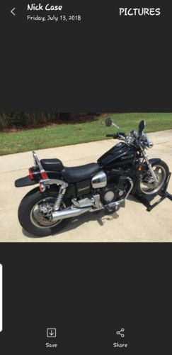 1985 Kawasaki Eliminator Black for sale