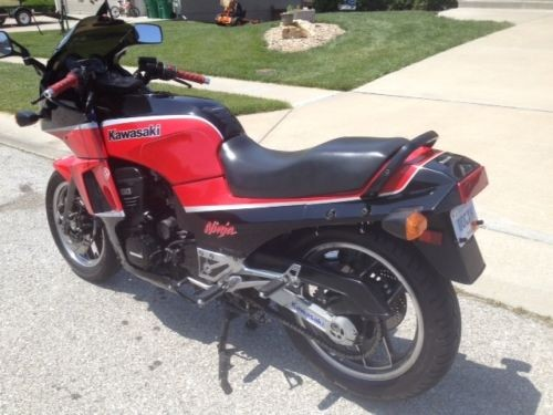 1985 Kawasaki Ninja Red for sale craigslist
