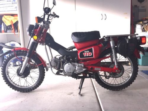 1986 Honda CT Red photo