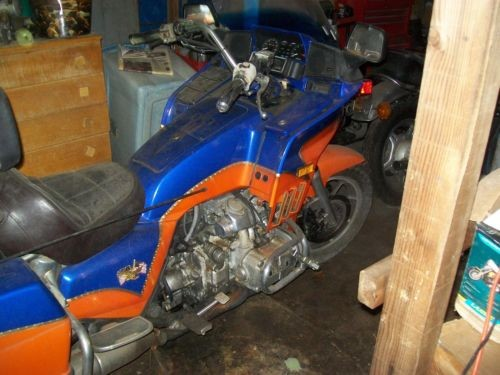 1986 Honda Gold Wing Orange for sale craigslist