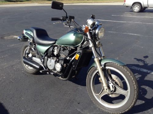 1986 Kawasaki Eliminator Green for sale