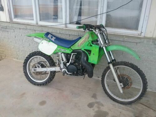 1986 Kawasaki KX Green for sale craigslist