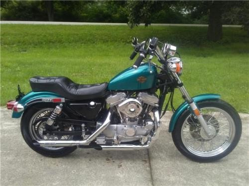1987 Harley-Davidson Sportster -- Teal for sale