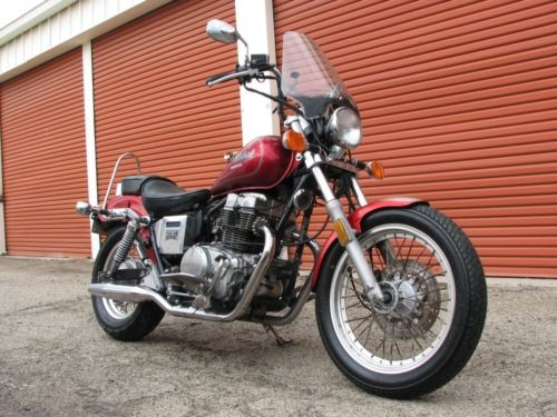 1987 Honda Rebel Red photo