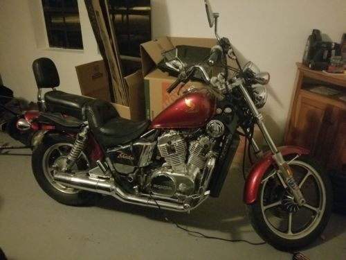 1987 Honda Shadow VT700 Red for sale