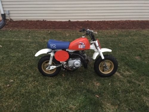 1987 Honda Z50R Orange for sale craigslist